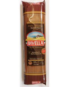 Divella N.8 Wholewheat Spaghetti 24 x 500g