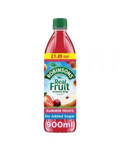 Robinsons Summer Fruits No Added Sugar PMP 12 x 900ml