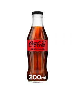 Coca Cola ZERO Sugar Glass 200ml x 24