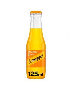 Schweppes Orange Juice Glass 125ml x 24