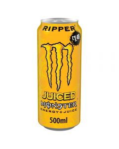 Monster Ripper Juiced Energy Drink 12 x 500ml PM