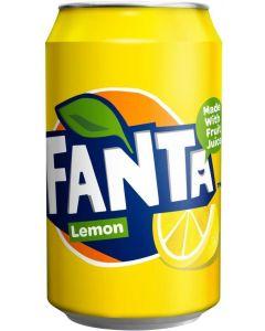 Fanta Lemon Cans 330ml x 24