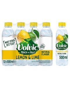 Volvic Lemon & Lime 12 x 500ml