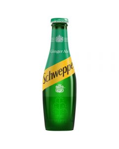 Schweppes Canada Dry Ginger Ale 200ml x 24