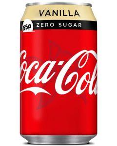 Coke Zero Vanilla 330ml x 24 PM