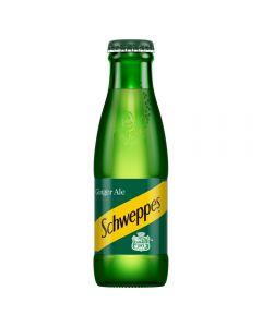 Schweppes Ginger Ale Glass Bottle 125ml x 24