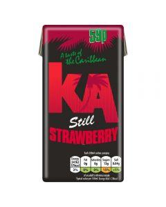 KA Still Strawberry Juice Drink 288ml x27 PM
