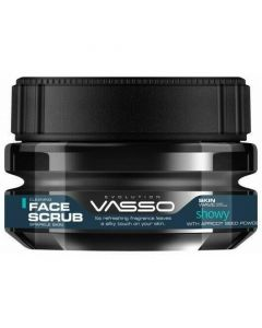 Vasso Showy Cleaning Face Scrub Sparkle Skin With Apricot Seed Power 250ml