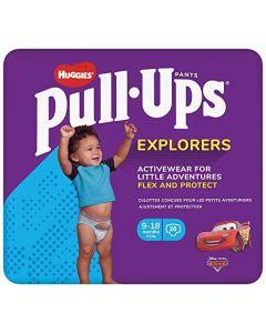 Huggies Pull-Ups Explorers Boy 9-18 Months (8-12kg) - 28 Pants