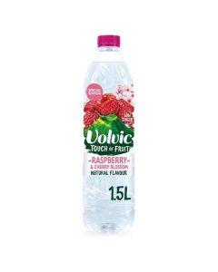 Volvic Touch of Fruit Raspberry & Cherry Blossom 1.5L x 6