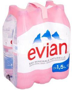 Evian Water 1.5L x6