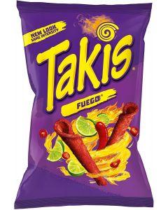 Takis Fuego Chilli & Lime Corn Snack 180g x 10