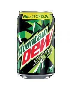 Mountain Dew Citrus Blast 24 x 330ml PM