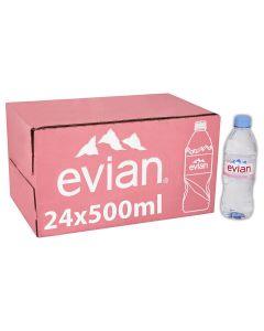 Evian Mineral Water 500ml x24