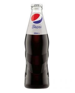 Diet Pepsi Glass Bottles 24 x 330ml