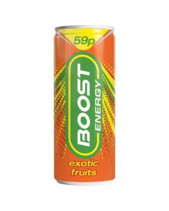 Boost Exotic Fruit 24 x 250ml PM
