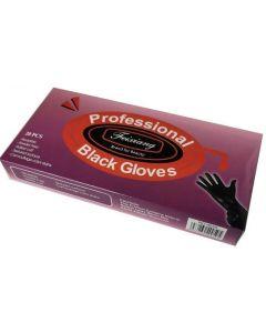 Reusable Professional Black Gloves Powder Free 20pcs - Small
