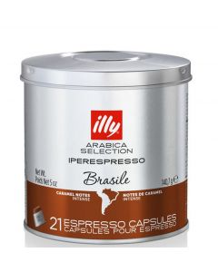 Illy Iperespresso Brasile Coffee 21 Capsules Best Before May 21