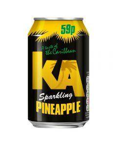 KA Pineapple Sparkling 330ml x 24 PM