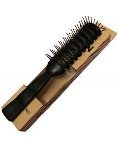 Vain Vented Detangling Comb Black Styling Hair Brush Salon Hairdressing - Small