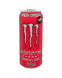Monster Ultra Red 12 x 500ml PM