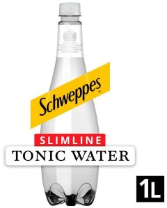 Schweppes Slimline Tonic Water 1L x 6