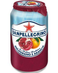 SanPellegrino Melograno Pomegranate & Orange 330ml x 24