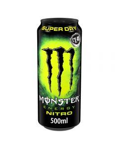 Monster Nitro Super Dry Energy Drink 12 x 500ml PMP