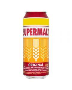 Supermalt Original 12 x 500ml Cans