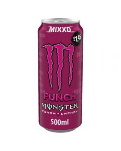 Monster Mixxd Fruit Punch 12 x 500ml PM
