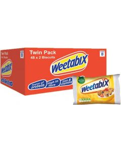 Weetabix 48 x 2Biscuits BBE Aug 21