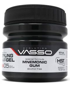 VASSO Styling Hair Gel The Rock 05 Hold Factor Mnemonic Gum 500ml