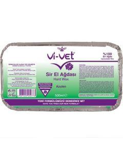 VIVET GREEN HARD WAX NO STRIPS WAXING Pellets HOT BRAZILIAN BODY Hair Removal Sir Agda 500ml