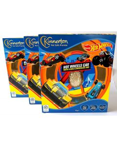 Kinnerton Hot Wheel Car with Easter Egg x 3 Best Before 01/03/21