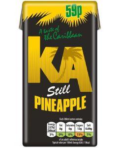 KA Pineapple Still Juice 288ml x27 PM